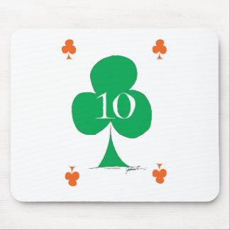Mousepad Irlandês afortunado 10 dos clubes, fernandes tony