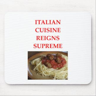 Mousepad italiano