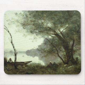 Mousepad Jean-Baptiste-Camilo Corot - barqueiro