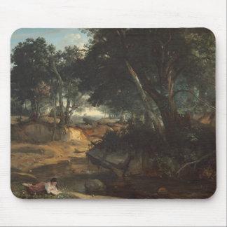 Mousepad Jean-Baptiste-Camilo Corot - floresta de