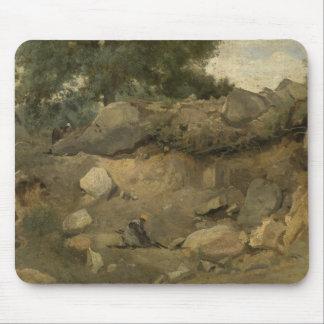 Mousepad Jean-Baptiste-Camilo Corot - mina de pedra