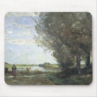 Mousepad Jean-Baptiste-Camilo Corot - opinião do rio
