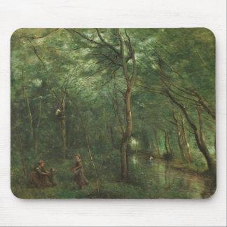 Mousepad Jean-Baptiste-Camilo Corot - recolectores da