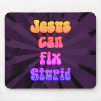 Mousepad Jesus pode fixar estúpido
