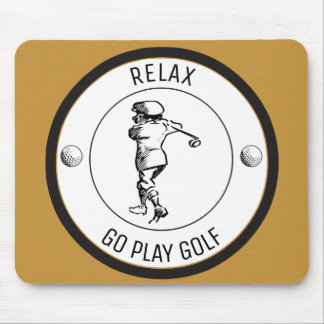 Mousepad Jogador de golfe