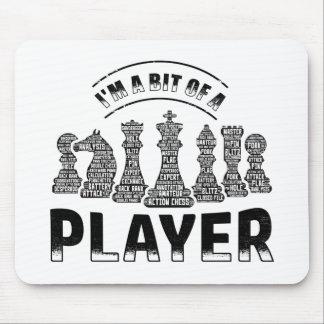 Mousepad Jogador de xadrez