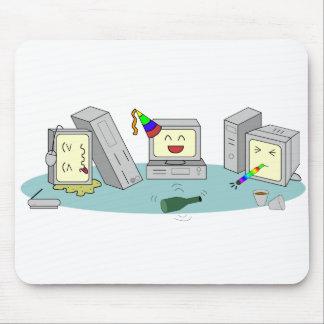 Mousepad Jogo do computador do partido do Lan Geeky