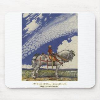 "Mousepad John Bauer - ""no mundo largo """