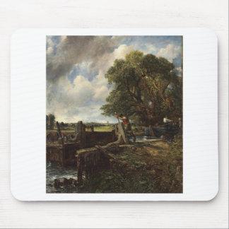Mousepad John Constable - o fechamento - paisagem do campo