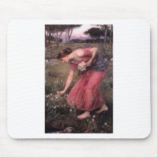 Mousepad John William Waterhouse - narciso - belas artes