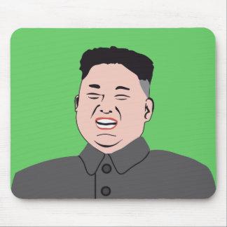Mousepad Jong-un de riso de Kim