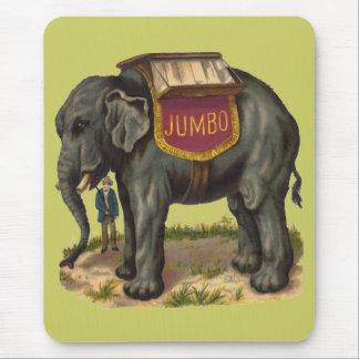 Mousepad Jumbo, grande elefante da pinta Barnum