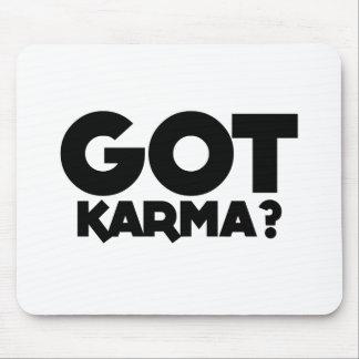 Mousepad Karmas obtidas, palavras do texto
