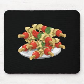 Mousepad Kebabs super do vegetariano da comida do pulso