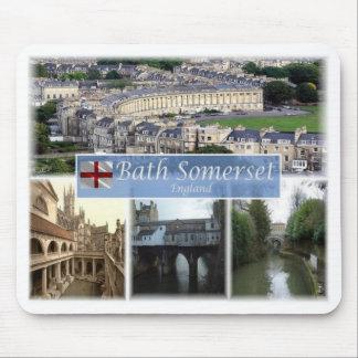 Mousepad Kingdomm unido GB - Inglaterra - banho Somerset -
