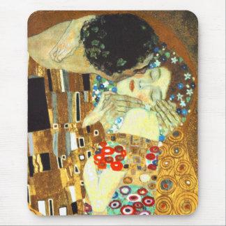 Mousepad Klimt: O beijo