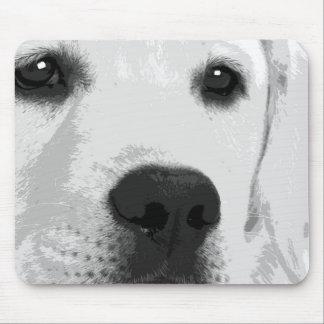 Mousepad Labrador retriever preto e branco
