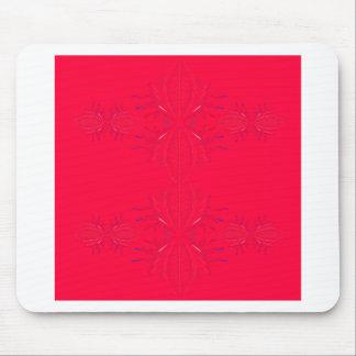 Mousepad Laço do vermelho dos elementos do design