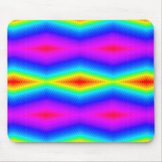 Mousepad Laço-tintura do arco-íris