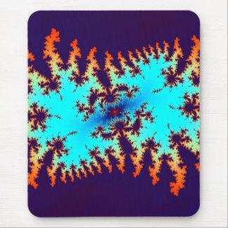 Mousepad laço-tintura do fractal: impressão animal