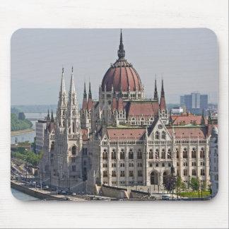 Mousepad Lado sul do parlamento de Budapest, Hungria