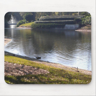Mousepad Lago e pedra