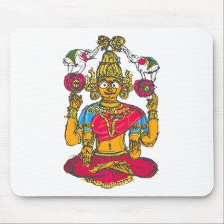 Mousepad Lakshmi/Shridebi na pose da meditação