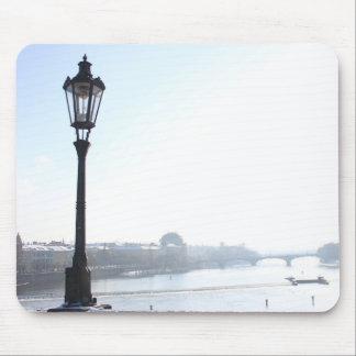 Mousepad Lamppost na ponte de Charles (Praga)