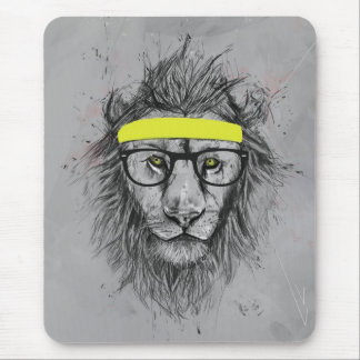 Mousepad Leão do hipster