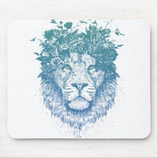 Mousepad Leão floral