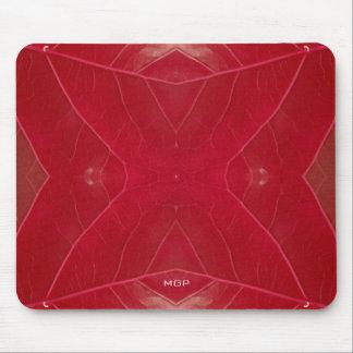 Mousepad Leatherette vermelho