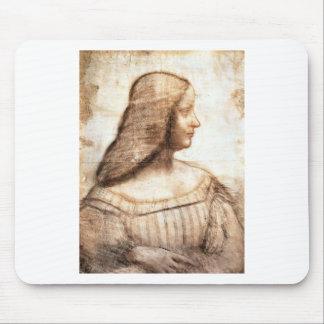 Mousepad Leonardo da Vinci - pintura de Isabella D'este