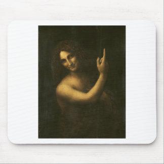Mousepad Leonardo da Vinci - pintura de John The Baptist do