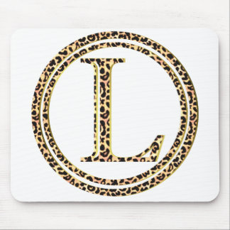 Mousepad leopardo L