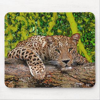 Mousepad Leopardo preguiçoso