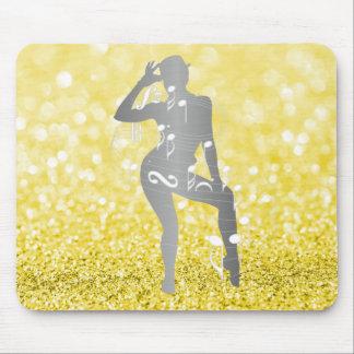 Mousepad Limonada musical de Sorrento do brilho da dança da