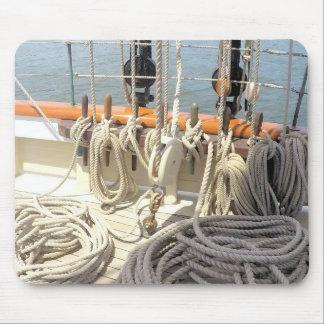 Mousepad Linhas do veleiro