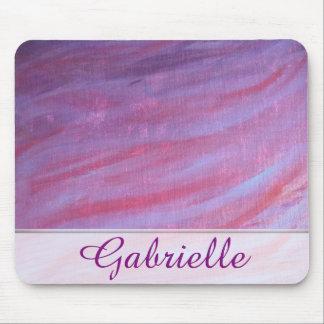 Mousepad Listra roxa cor-de-rosa conhecida adaptávela da