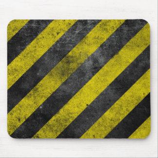 Mousepad Listras de advertência