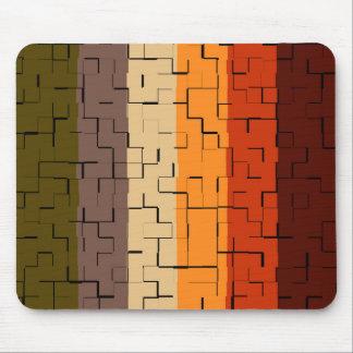 Mousepad Listras do abstrato da cor da queda