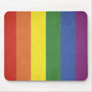 Mousepad Listras do arco-íris