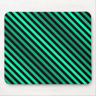 Mousepad Listras verdes de máscaras de variação