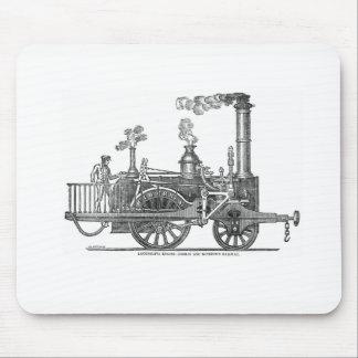 Mousepad Locomotiva de vapor adiantada