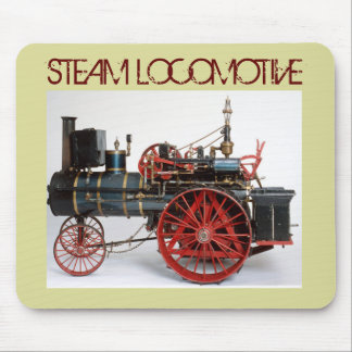 MOUSEPAD LOCOMOTIVA DE VAPOR DO VINTAGE