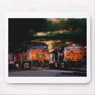 Mousepad Locomotivas poderosas prontas para transportar