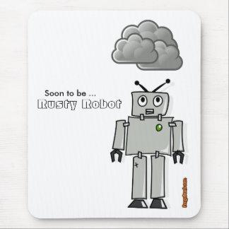 Mousepad Logo para ser robô oxidado