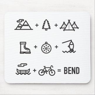 Mousepad Logotipo da equação das atividades de Oregon da