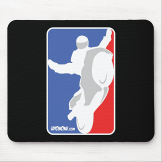 Mousepad logotipo do estilo de NBA de UpOnOne.com
