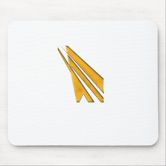 Mousepad logotipo do ouro