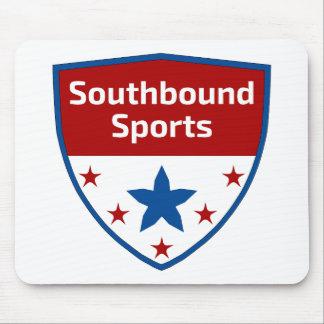 Mousepad Logotipo Southbound da crista dos esportes